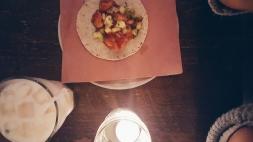 camarones taco (chipotle shrimp, pineapple)